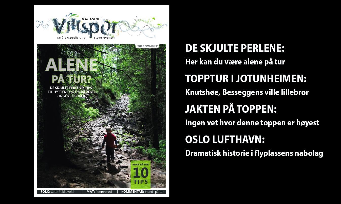 Magasinet Villspor sommer 2019