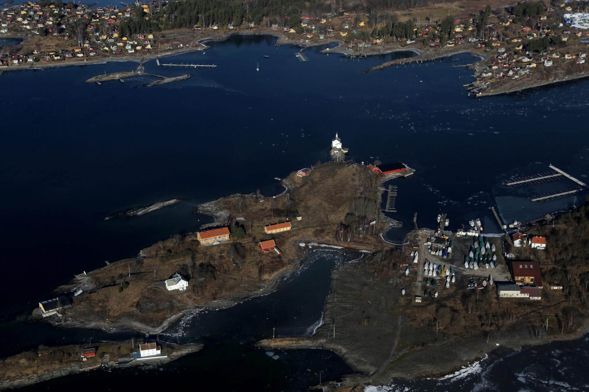 Oslofjorden bygging i strandsonen
